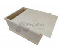 Почтовый ящик из фанеры с выдвижной крышкой
