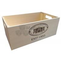 Деревянный ящик сувенирный с гравировкой