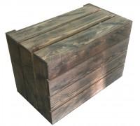 Ящик деревянный с эффектом старения