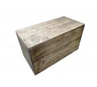 Большой деревянный ящик-сундук
