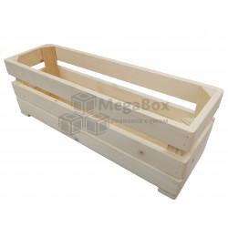 Ящик реечный узкий