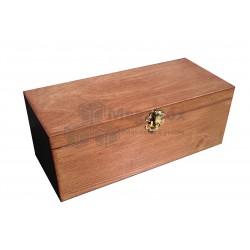 Шкатулка деревянная подарочная с мягким ложементом