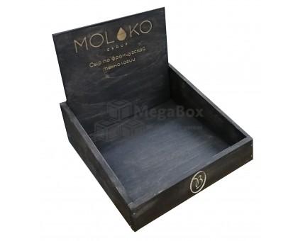Декоративный деревянный ящик-лоток