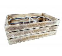 Ящик из рейки с обжигом с фанерным дном