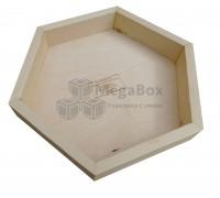 Ящик деревянный шестигранный