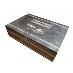 Шкатулка деревянная подарочная