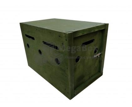 Армейский фанерный ящик для перевозки собак