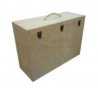 Ящик фанерный с защелками для скульптуры