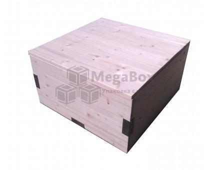 Ящик из сосновой доски для тяжелого подарка