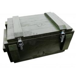 Армейский ящик из сосны с фурнитурой