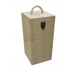 Фанерный ящик с защёлкой и ручкой