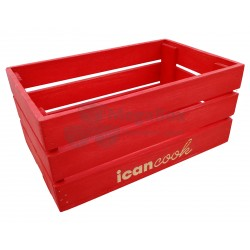 Ящик деревянный реечный с окрасом