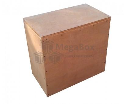 Фанерный ящик с крышкой тонированный