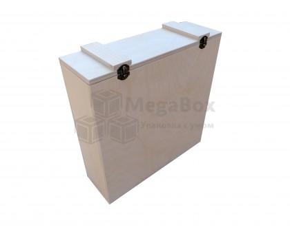 Фанерный ящик с крышкой с защелками