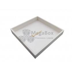 Ящик лоток деревянный с окрасом и гравировкой