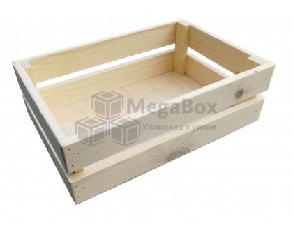 Ящик реечный с фанерным дном для фруктов