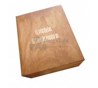 Шкатулка деревянная подарочная с ложементом