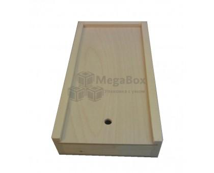 Пенал деревянный для карандашей и кисточек